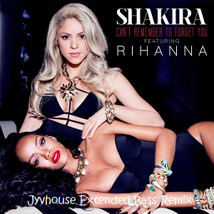 Shakira ft Rihanna - Cant Remember To Forget You (Jyvhouse Extended Bass Remix)