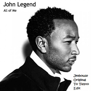 John Legend - All Of Me (Jyvhouse Original to Tiesto Edit)